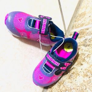 Cute Minnie Mouse Toddler Girls Sneakers size 5